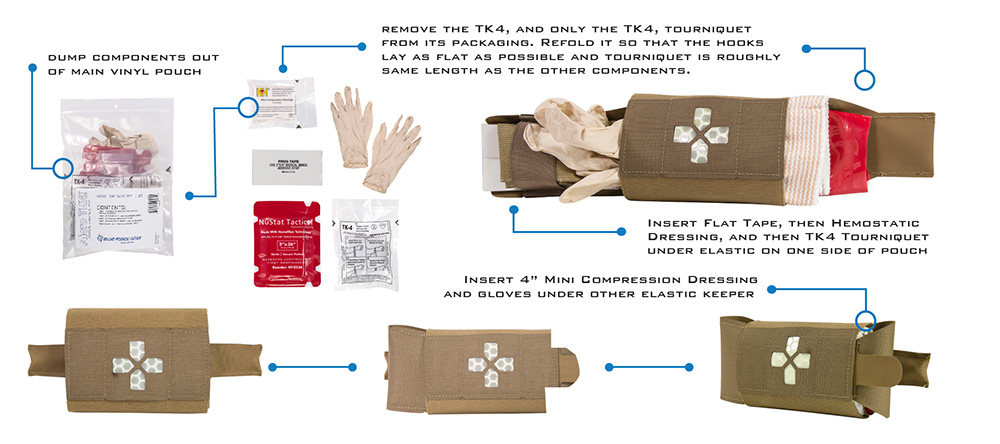 tactical trauma kit fill instructions