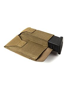 Double Pistol Belt Pouch-Coyote Brown