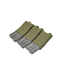 Ten-Speed Triple M4 Mag Pouch-Ranger Green