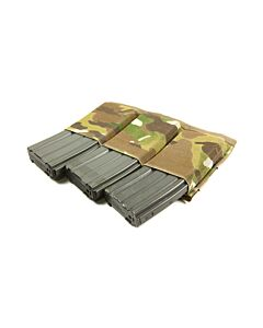 Ten-Speed Triple M4 Mag Pouch-Multicam