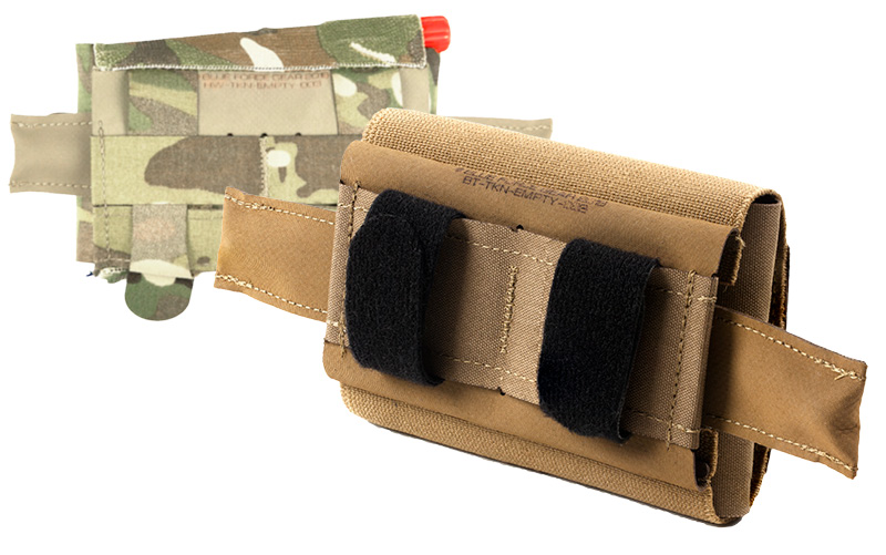 Detail of MOLLE or Belt Attachment Method on the Micro Trauma Kit NOW!