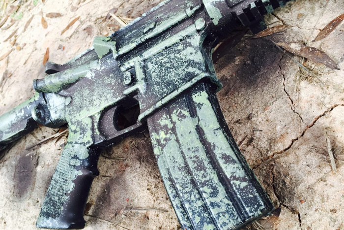 How To: DIY Camo Paint Your Rifle